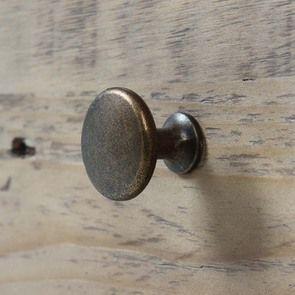Armoire 2 portes en bois recyclé blanc -Rivages - Visuel n°12