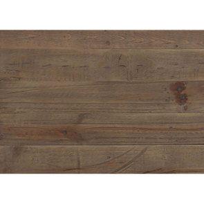 Lit 180x200 en bois recyclé blanc – Rivages - Visuel n°16