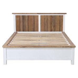 Lit 140x190 blanc avec tiroirs - Rivages - Visuel n°11