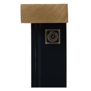 Lit 140x200 bleu navy avec tiroirs - Rivages - Visuel n°15