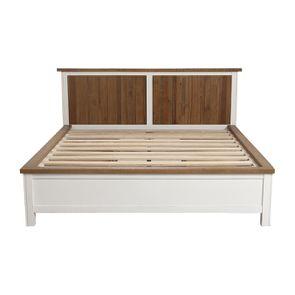 Lit 160x200 blanc avec tiroirs - Rivages - Visuel n°9