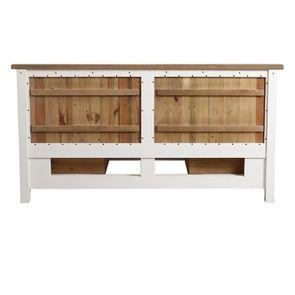 Lit 160x200 blanc avec tiroirs - Rivages - Visuel n°11