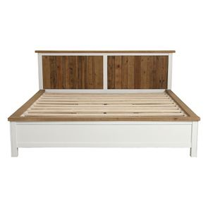 Lit 180x200 blanc avec tiroirs - Rivages - Visuel n°9