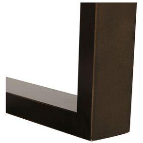 Table ronde extensible en bois et métal - Demeure - Visuel n°15