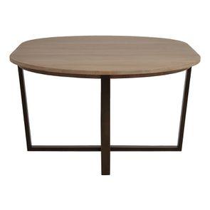Table ronde extensible en bois et métal - Demeure - Visuel n°12