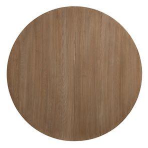 Table ronde extensible en bois et métal - Demeure - Visuel n°14