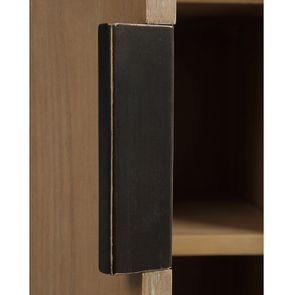 Bibliothèque en bois et acier - Demeure - Visuel n°17