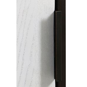 Bibliothèque en frêne massif blanc et métal - Demeure - Visuel n°15