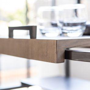 Bout de canapé en bois et métal - Demeure - Visuel n°3