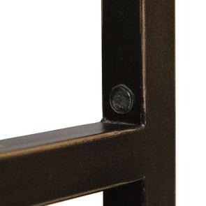 Bout de canapé en bois et métal - Demeure - Visuel n°17