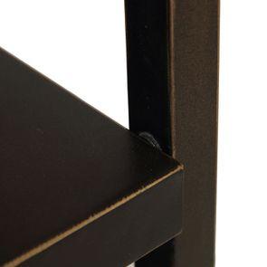 Bout de canapé en bois et métal - Demeure - Visuel n°18