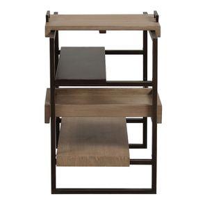 Bout de canapé en bois et métal - Demeure - Visuel n°6