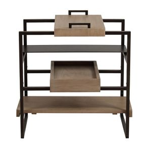 Bout de canapé en bois et métal - Demeure - Visuel n°7