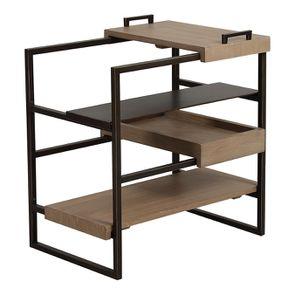 Bout de canapé en bois et métal - Demeure - Visuel n°10