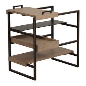 Bout de canapé en bois et métal - Demeure - Visuel n°11