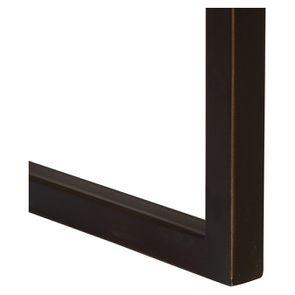 Table basse contemporaine en bois, verre et métal - Demeure - Visuel n°13