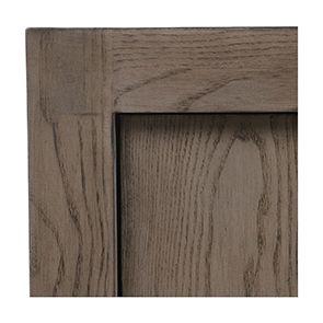 Buffet contemporain 4 portes 2 tiroirs en frêne naturel fumé - Basale - Visuel n°11