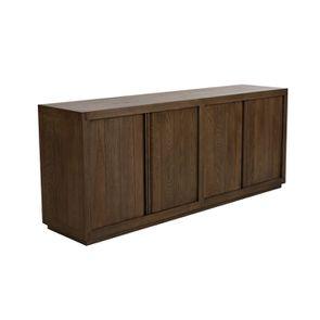 Buffet bas contemporain 4 portes 2 tiroirs en frêne - Basale - Visuel n°5