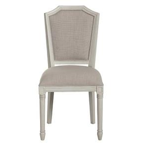 Chaise en tissu et hévéa - Bruges
