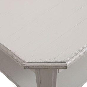Table basse carrée avec rangements lin vieilli - Bruges - Visuel n°7