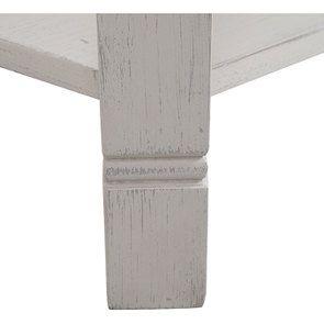 Table basse carrée avec rangements lin vieilli - Bruges - Visuel n°8