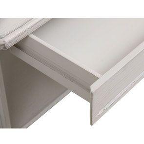 Table basse carrée avec rangements lin vieilli - Bruges - Visuel n°9