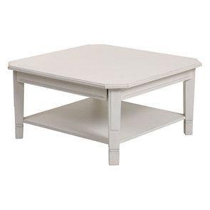 Table basse carrée avec rangements lin vieilli - Bruges - Visuel n°15