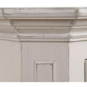 Meuble de rangement vitré lin vieilli - Bruges - Visuel n°12
