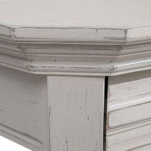 Console lin vieilli 3 tiroirs - Bruges - Visuel n°7