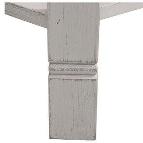 Console lin vieilli 3 tiroirs - Bruges - Visuel n°8