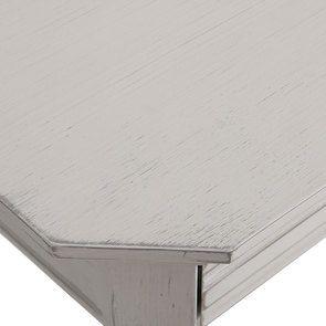 Console lin vieilli 3 tiroirs - Bruges - Visuel n°9