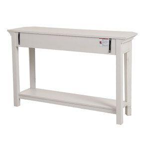 Console lin vieilli 3 tiroirs - Bruges - Visuel n°15