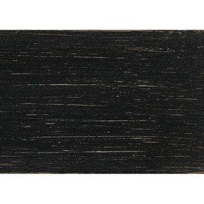Fauteuil bergère en frêne noir et tissu feuilles noires - Bruges - Visuel n°12