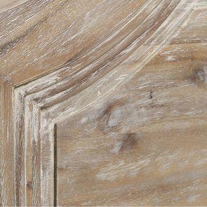 Armoire penderie 2 portes en acacia massif - Chenonceau - Visuel n°5