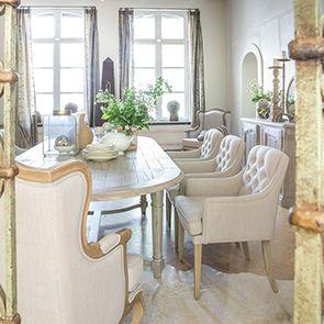 Table à manger extensible en acacia 12 à 14 personnes - Chenonceau - Visuel n°3