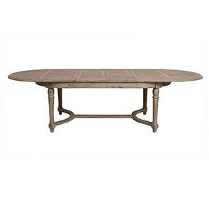 Table à manger extensible en acacia 12 à 14 personnes - Chenonceau - Visuel n°6
