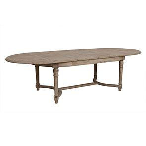 Table à manger extensible en acacia 12 à 14 personnes - Chenonceau - Visuel n°7