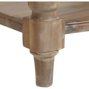 Table de chevet avec tiroir en acacia massif - Chenonceau