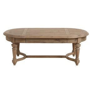 Table basse en acacia massif - Chenonceau
