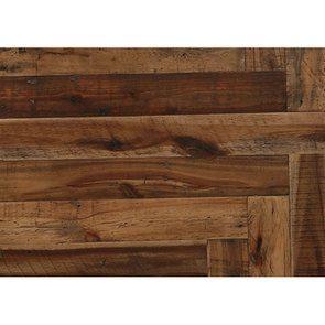 Bout de canapé industriel en bois recyclé et métal - Manufacture - Visuel n°9