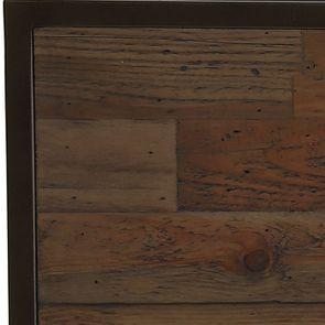 Console et bout de canapé gigognes industriels en bois recyclé naturel grisé - Manufacture - Visuel n°13