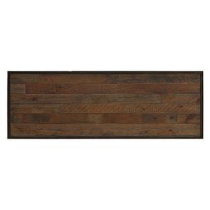 Console et bout de canapé gigognes industriels en bois recyclé naturel grisé - Manufacture - Visuel n°15