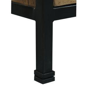 Commode 5 tiroirs en bois recyclé - Manufacture - Visuel n°9