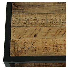Commode 5 tiroirs en bois recyclé - Manufacture - Visuel n°10