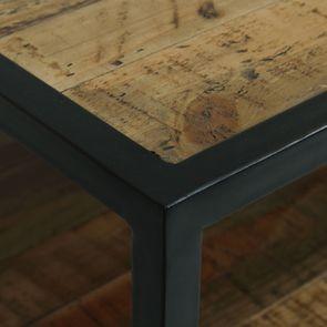Commode 5 tiroirs en bois recyclé - Manufacture - Visuel n°11