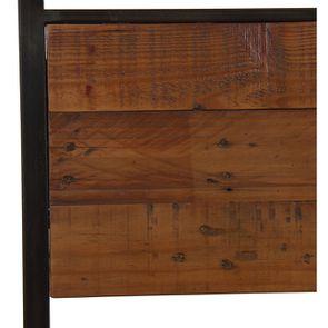 Chaise style industriel en métal et bois recyclé - Manufacture - Visuel n°9