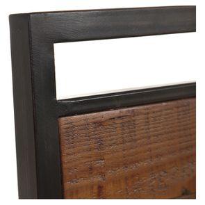 Chaise style industriel en métal et bois recyclé - Manufacture - Visuel n°10