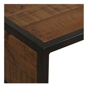 Bureau industriel en bois recyclé et acier - Manufacture - Visuel n°19