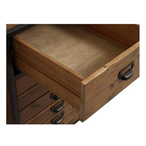 Bureau industriel en bois recyclé et acier - Manufacture - Visuel n°20