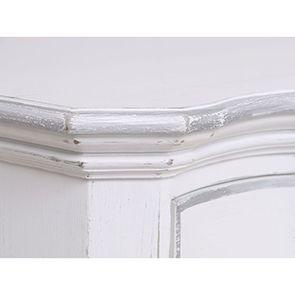 Commode blanche 3 tiroirs en bois - Monceau - Visuel n°8